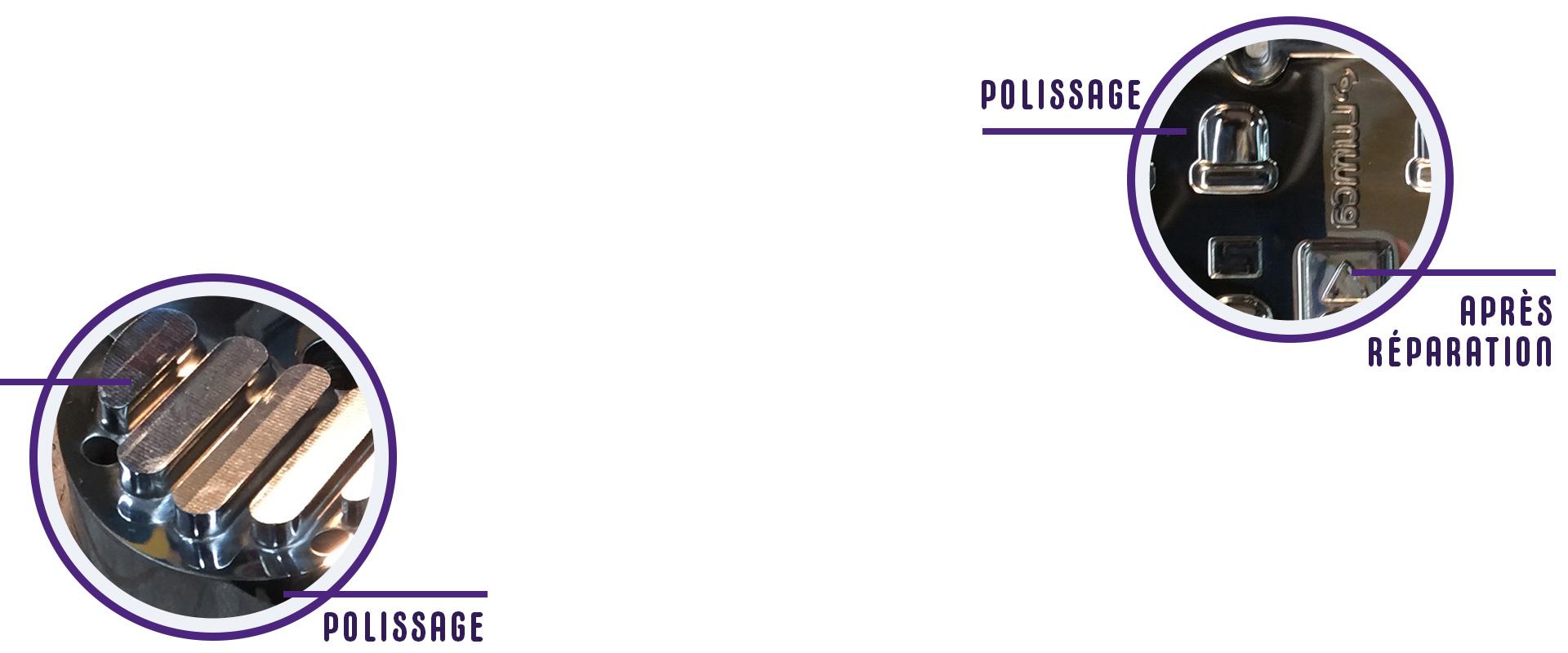 Les services offerts par Micron Polissage inc, entreprise de polissage
