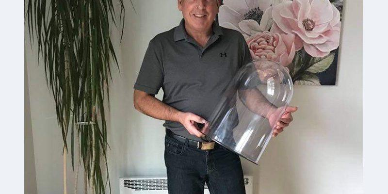 Globe de lampadaire de rue, un bel exemple de réalisation!